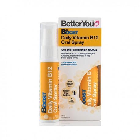 Witamina B12 Metylowana Boost Pure Energy SPRAY 25ml BetterYou