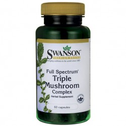 Full Spectrum Triple Mushroom Complex 60kaps. Swanson
