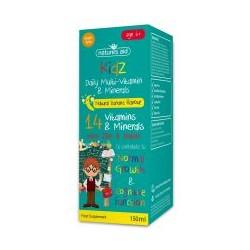Kidz Multi w Kroplach dla Dzieci 150ml Nature's Aid