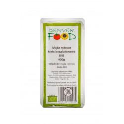 BIO Mąka Ryżowa Biała Bezglutenowa 250g Denver Foods
