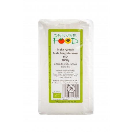 Mąka Ryżowa BIO Bezglutenowa 1kg Denver Foods