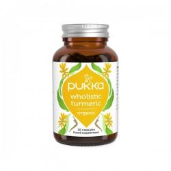 PUKKA Kurkuma- WholisticTM Turmeric 30kaps.