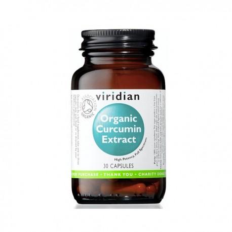 Organic Curcumin Extract 30kaps. Viridian