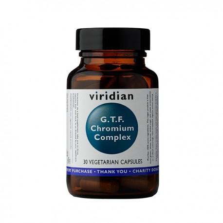 GTF Chrom Suplement diety 30kaps. Viridian