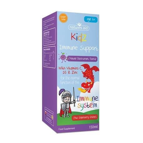 Kidz Immune Support Odporność Dziecka 150ml Nature's Aid