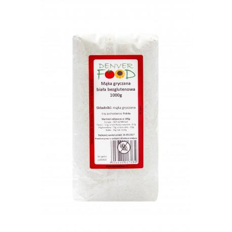 Mąka Gryczana Biała Bezglutenowa 1kg Denver Foods