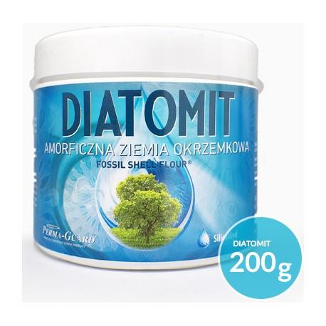 Ziemia Okrzemkowa Amorficzna Diatomit 200g