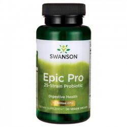 Epic-Pro Probiotyk 25 szczepów 30 mld 30 kaps. Swanson