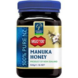 Miód Nektarowy Manuka MGO® 100+ 500g Manuka Health