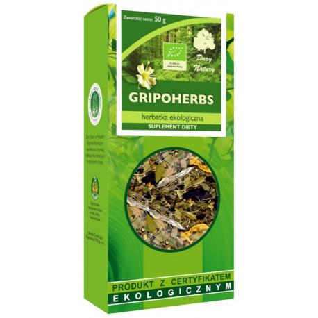Herbata Gripoherbs  BIO 50 g Dary Natury
