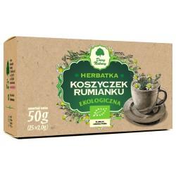 Herbata Ekologiczne Koszyczki Rumianku 25sasz. Dary Natury