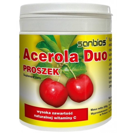Sanbios Acerola Duo Proszek 200g