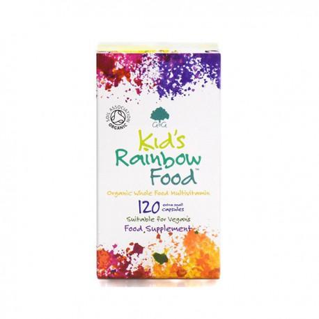 G&G- Witaminy B i Probiotyki- Kids Rainbow Food BIO 120 mini kaps.