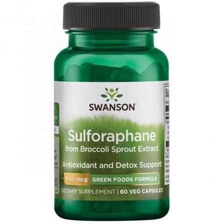 Sulforafan Koncentrat 400mcg 60kaps. Swanson