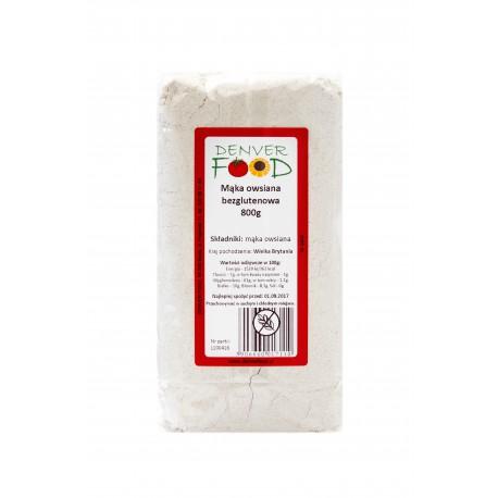 Mąka Owsiana Bezglutenowa 800g Denver Foods