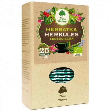 Eko Herbata Herkules 25x1,5g saszetki - DARY NATURY