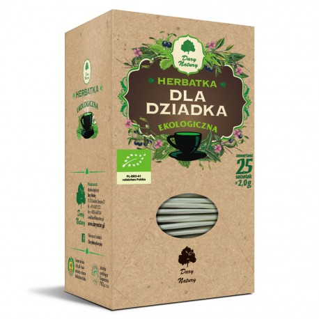 Herbatka dla Dziadka BIO 25sasz. x2g Dary Natury