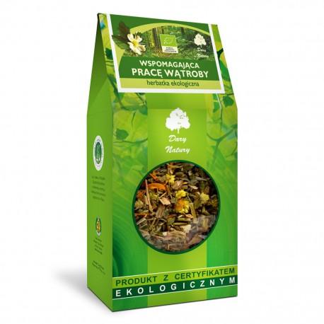 Herbatka Wspomagająca Pracę Wątroby EKO 200g - Dary Natury