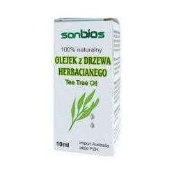 Olejek z Drzewa Herbacianego 10ml Sanbios