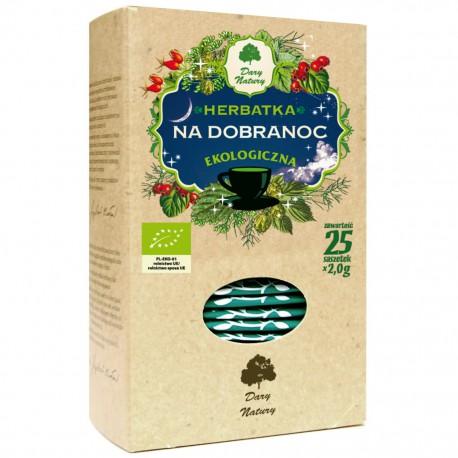 Dary Natury Herbatka Na Dobranoc Eko 25X2g