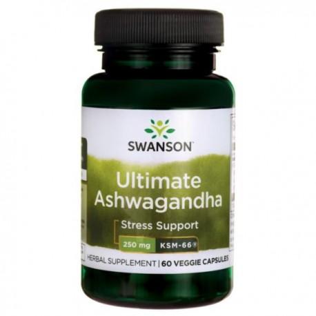 Ashwagandha Ksm-66 250Mg 60kaps. Swanson