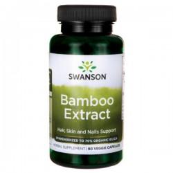 Swanson Bamboo Extract 300mg 60kaps. (ekstrakt z bambusa)