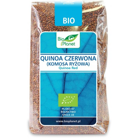 Komosa Ryżowa Czerwona (Quinoa)  BIO 500g Bio Planet