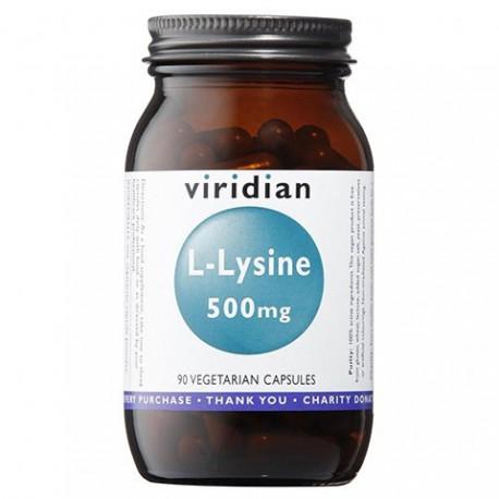L-Lizyna 500 mg 90 kaps. Viridian