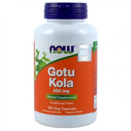 NOW Foods Gotu Kola 450Mg 100kaps.