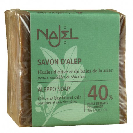 Mydło z Aleppo 40% 185g Najel