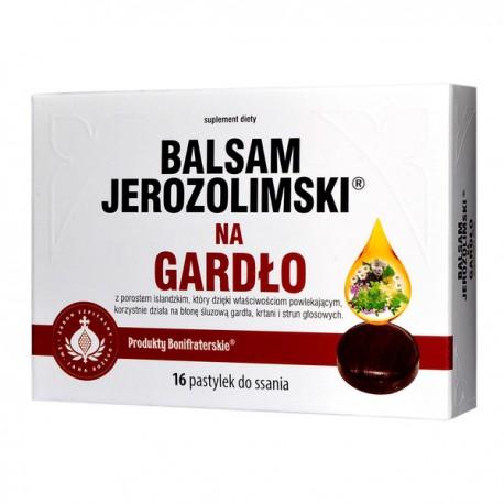 Balsam Jerozolimski na Gardło, Pastylki do ssania, 16 szt.