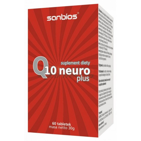 Koenzym Q10 100mg Neuro Plus 60tabl. Sanbios