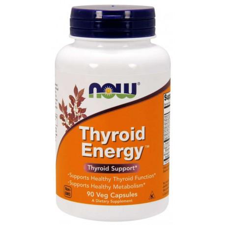 NOW Thyroid Energy™ 90 kaps. wegetariańskich (kompleks na tarczycę)