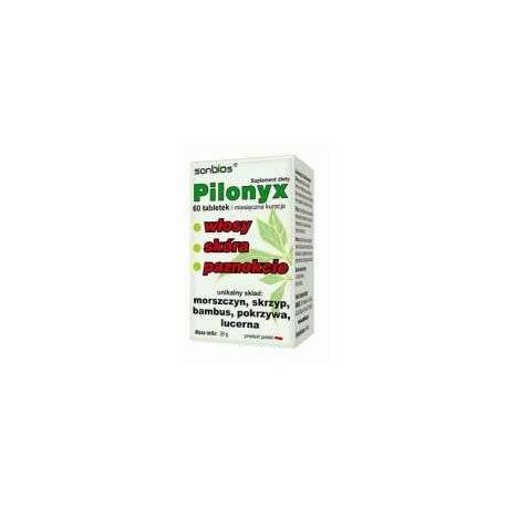 Pilonyx Miesięczna Kuracja 60 tabletek Sanbios