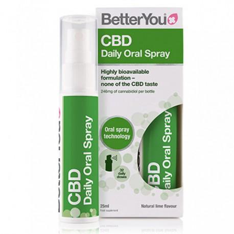 CBD Daily Oral Spray 25ml BetterYOU