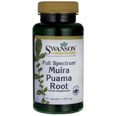 Swanson Full Spectrum Muira Puama 400Mg/90kaps.