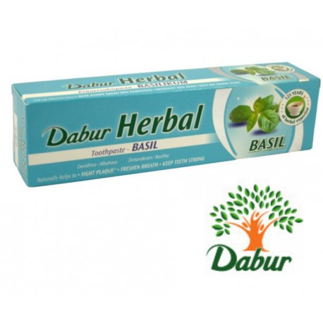 Dabur Herbal Pasta Do Zębów Z Bazylią 100Ml/155g