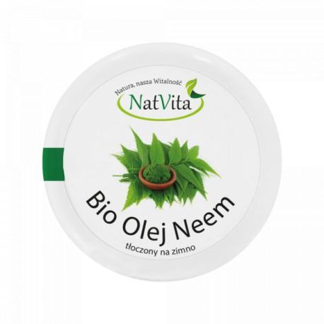 Olej Neem BIO zimnotłoczony 100g NatVita
