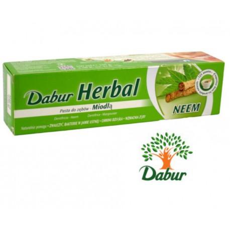 Dabur Herbal Pasta Do Zębów Z Neem (midla indyjska) 100Ml/155g