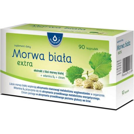 MORWA Biała Extra 90kaps. Oleofarm