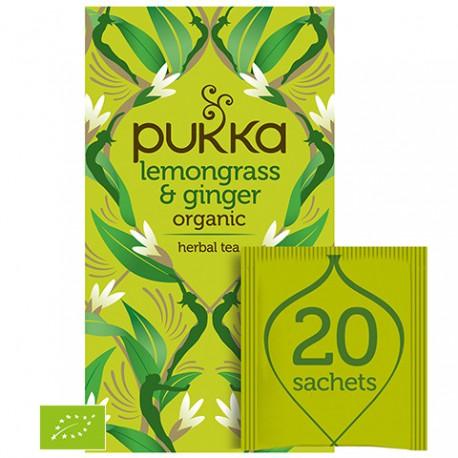 Herbata Lemongrass & Ginger 20 sasz. PUKKA