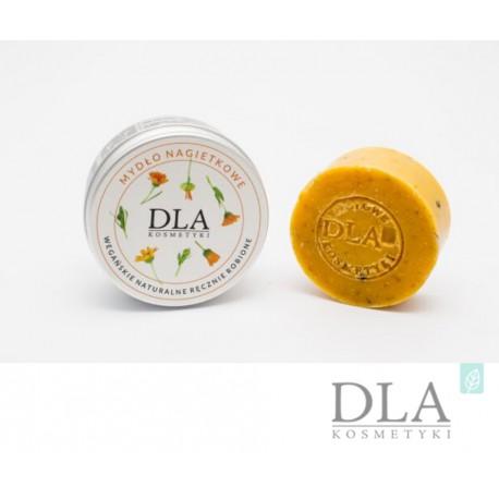 Mydło nagietkowe wegańskie naturalne ręcznie robione 100g Dla Kosmetyki