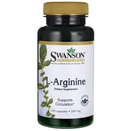 Swanson L-Arginina 500Mg/100 kaps.