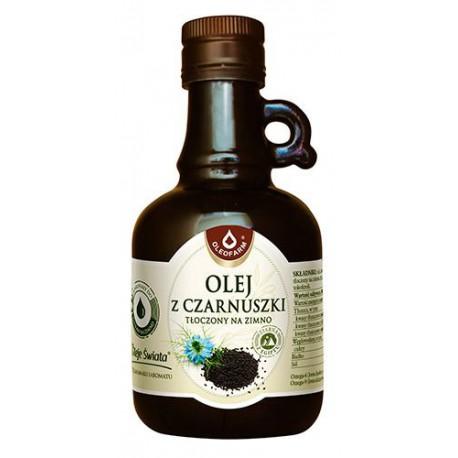 Olej z czarnuszki tłoczony na zimno 250 ml Oleofarm
