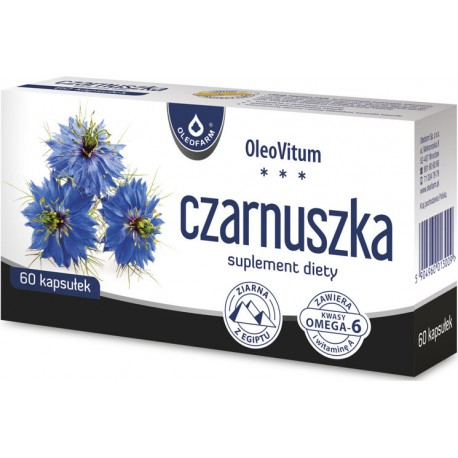Czarnuszka - 60 kapsułek Oleofarm