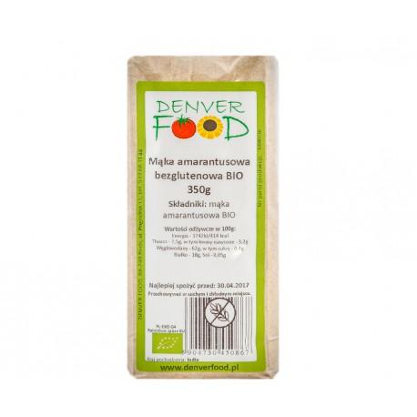 Mąka amarantusowa bezglutenowa BIO 350g Denver Foods