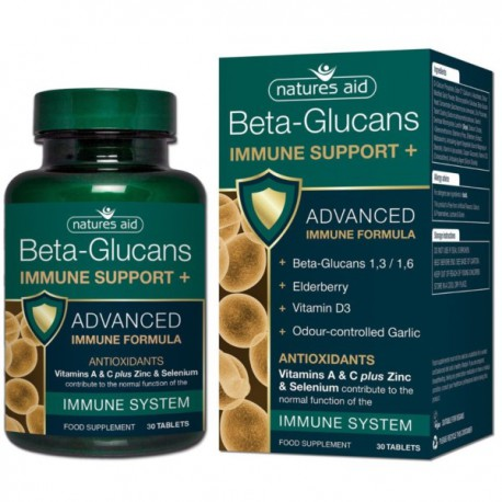 Natures Aid Beta Glukan Immune Support 30tabl.