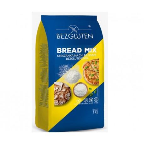 Bread Mix - mąka na chleb i pizze 1kg Bezgluten