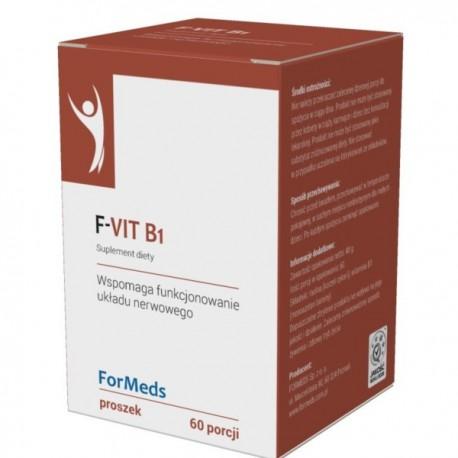 F-VIT B1 (witamina B1 tiamina) 60porcji ForMeds