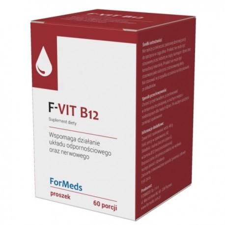 Formeds F-Vit B12 60 porcji Wspiera Ukad Nerwowy